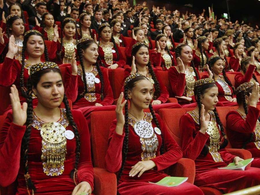 Γυναίκες στο Τουρκμενιστάν