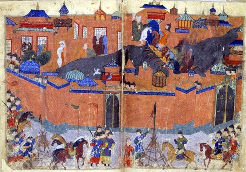 Η πολιορκία της Βαγδάτης από τον Ουλαγκού χαν