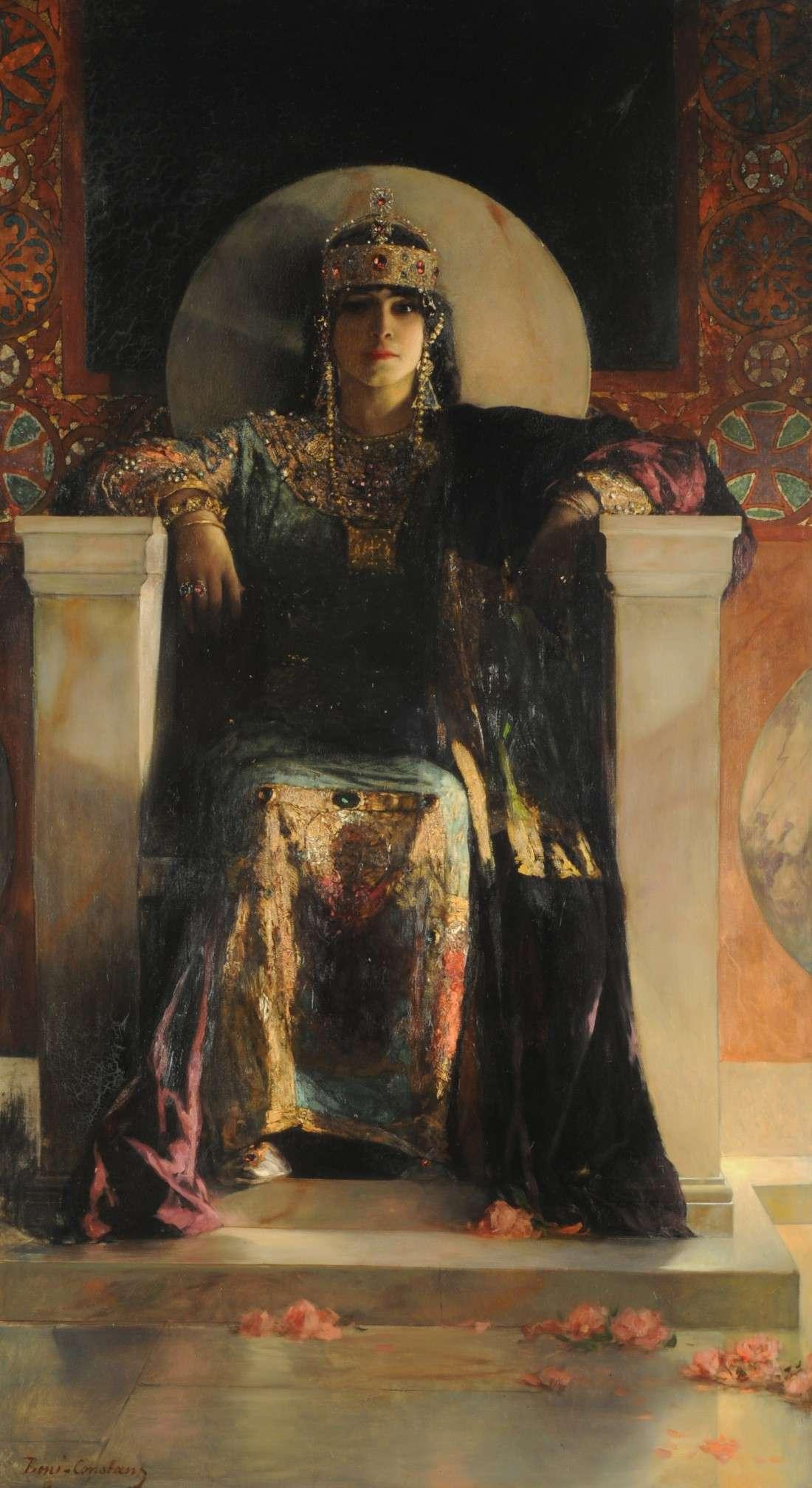 Η αυτοκράτειρα Θεοδώρα σε πίνακα ζωγραφικής (1887). Theodora - Jean-Joseph Benjamin
