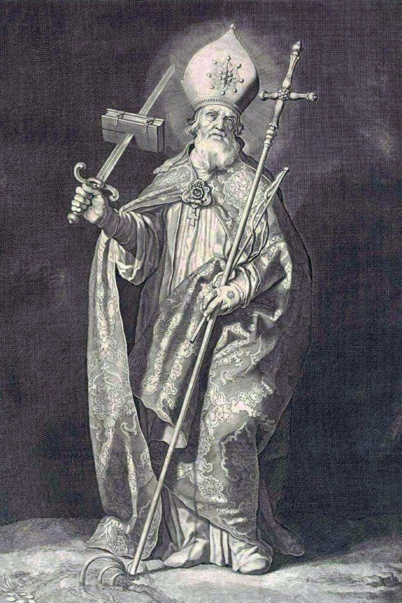 """Ο Άγιος Βονιφάτιος (Saint Boniface, 675 – 5 Ιουνίου 754) ήταν Αγγλοσάξονας ιεραπόστολος, ηγετική προσωπικότητα της αγγλοσαξονικής αποστολής στα γερμανικά τμήματα της Φραγκικής αυτοκρατορίας κατά τον 8ο αιώνα. Εγκαθίδρυσε τις πρώτες οργανωμένες χριστιανικές κοινότητες σε πολλά μέρη της Γερμανίας. Είναι ο άγιος προστάτης της Γερμανίας και αποκαλείται """"Απόστολος των Γερμανών""""."""