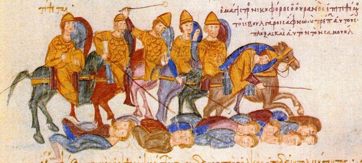 Ο Νικηφόρος Ουρανός κατατροπώνει τους Βούλγαρους στη μάχη του Σπερχείου