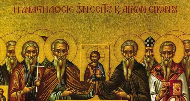 Το πρώτον έργον της κυβερνήσεως της Θεοδώρας ήτο η αναστήλωσις των εικόνων γενομένη ειρηνικώς, συμφώνως προς τας περί προσκυνήσεως διατάξεις της Ζ' Οικουμενικής Συνόδου του 787.