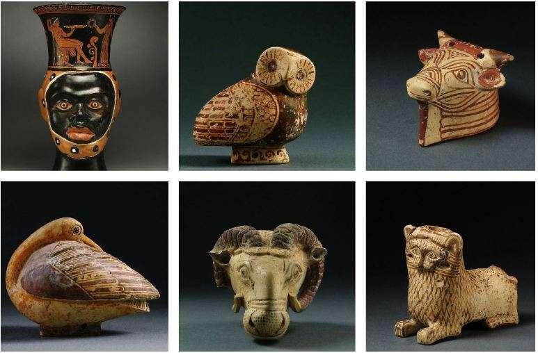 Κατασχέθηκαν επίσης αντικείμενα πρωτοκορινθιακής περιόδου που απεικονίζουν μια κουκουβάγια και μια πάπια, αξίας περίπου 250.000 δολαρίων.