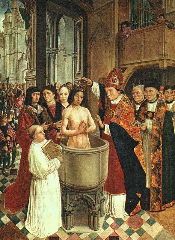 Ο Χλωδοβίκος Α΄ (Clovis Ier, 466 - 27 Νοεμβρίου 511), γιος του Χιλδερίχου Α΄ και εγγονός του Μεροβαίου ήταν Φράγκος βασιλιάς από το 481 έως το 511 μ.Χ. Στις 25 Δεκεμβρίου του 496 βαπτίστηκε ο ίδιος καθολικός από τον επίσκοπο της Ρενς.