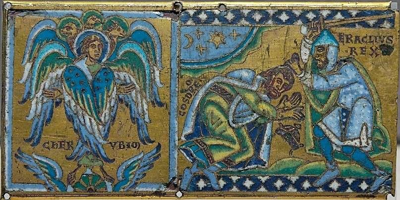 O Ηράκλειος νικά το βασιλιά των Περσών, Χοσρόη Β'