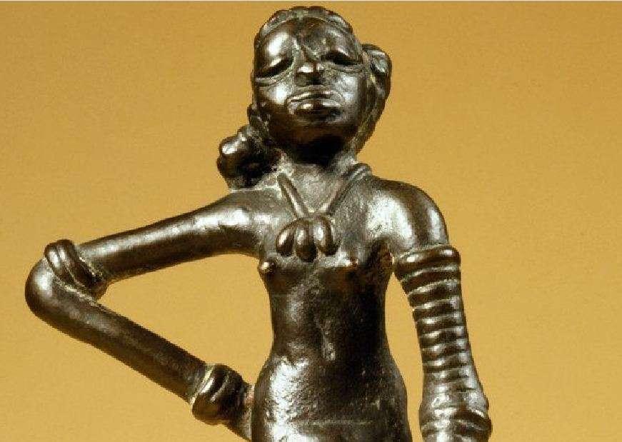 Αγαλματίδιο Χορεύτριας, Προϊστορικός οικισμός Mohenjo Daro