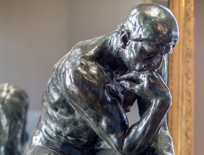 Le Penseur (Ο σκεπτόμενος) , 1882, Παρίσι, Μουσείο Ροντέν