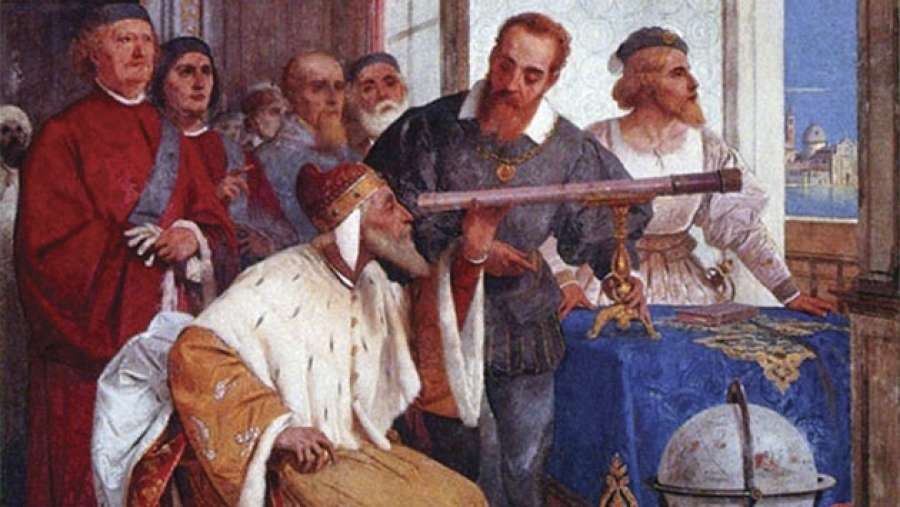 Το γράμμα του Γαλιλαίου όπου αποκαλύπτει τη νέα του εφεύρεση, το τηλεσκόπιό του
