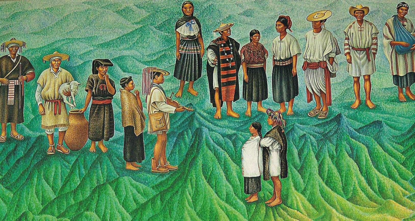 Εθνικό Μουσείο Ανθρωπολογίας (Μεξικό). Boards of Ethnography. National Museum of Anthropology (Mexico)