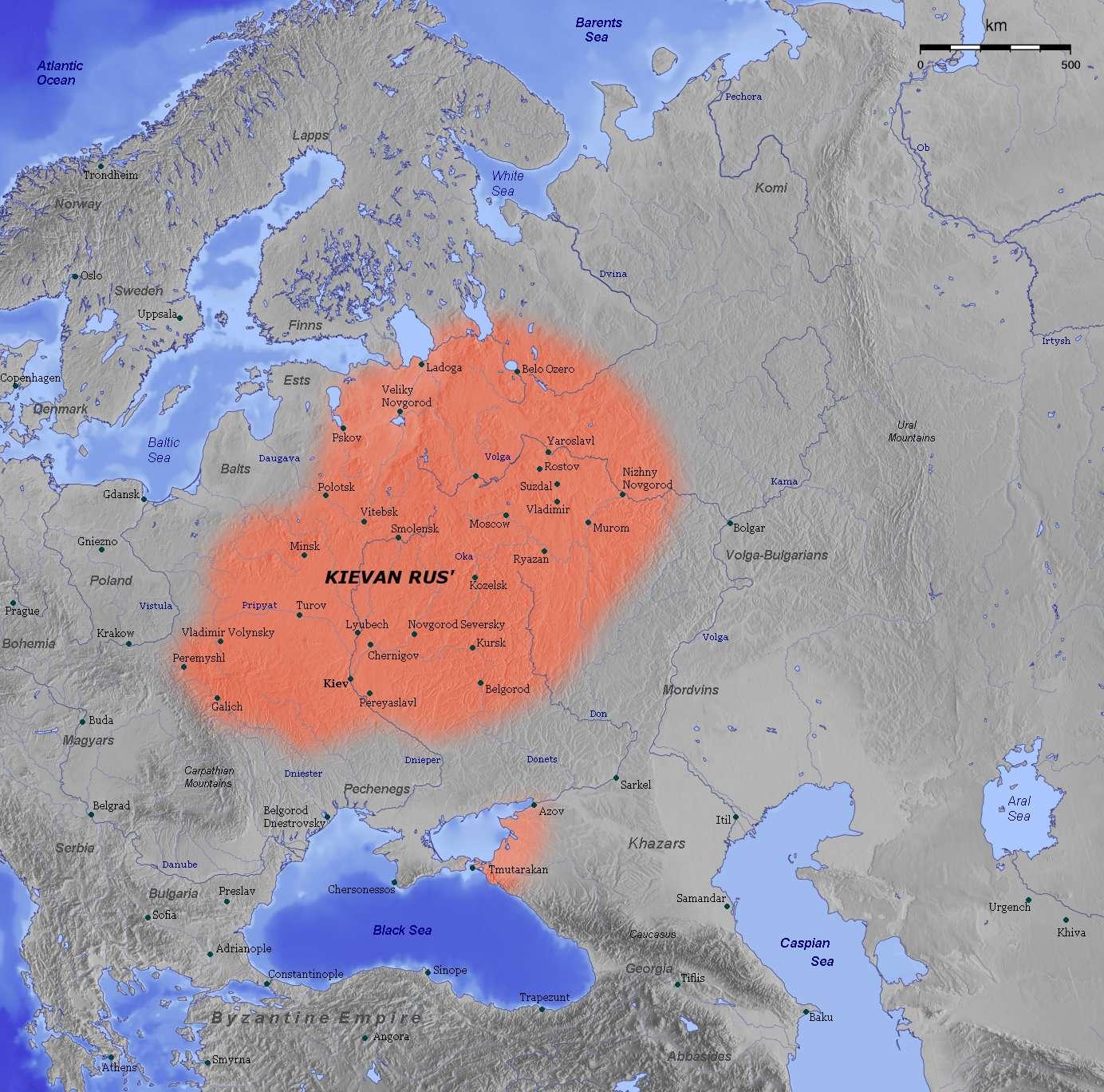 Το κράτος των Ρως του Κιέβου