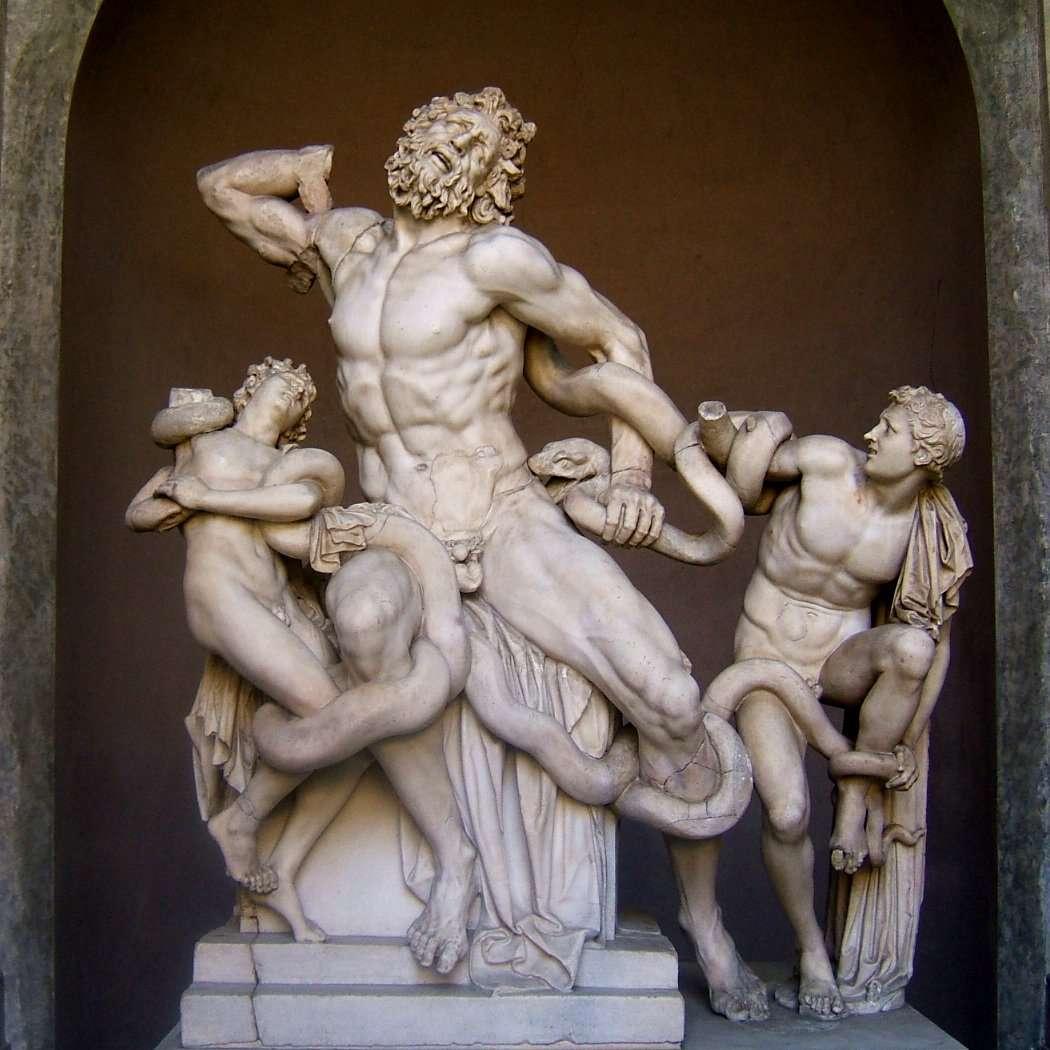 O Λαοκόων ήταν πρόσωπο της αρχαίας ελληνικής μυθολογίας, ένας από τους Τρώες ιερείς του Θυμβραίου Απόλλωνα. Ο Λαοκόων ήταν γιος του Κάπυος ή του Αντήνορα ή του Πριάμου ή του Ακοίτη, αδελφός του Αγχίση και σύζυγος της Αντιόπης.