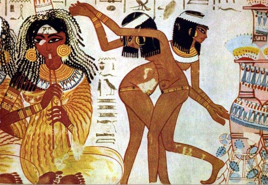 Οι αρχαίοι Αιγύπτιοι είχαν μια πλούσια πολιτιστική κληρονομιά γεμάτη γιορτές και φεστιβάλ συνοδεία μουσικής και χορού