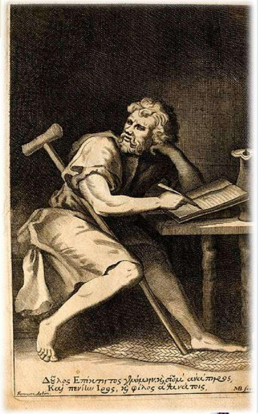 Ο Επίκτητος (50 μ.Χ. - 138 μ.Χ.) ήταν Έλληνας στωικός φιλόσοφος.