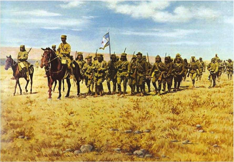 Έλληνες στρατιώτες στη Μικρά Ασία, 1922.