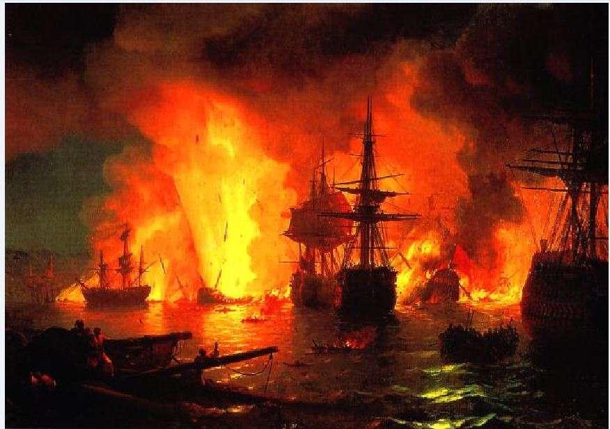 Η ναυμαχία του Τσεσμέ