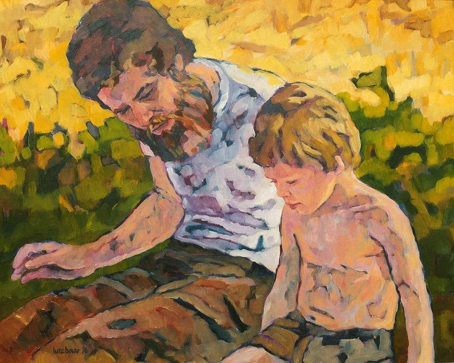 Πατέρας και γιος. Lutz Baar -Father and Son