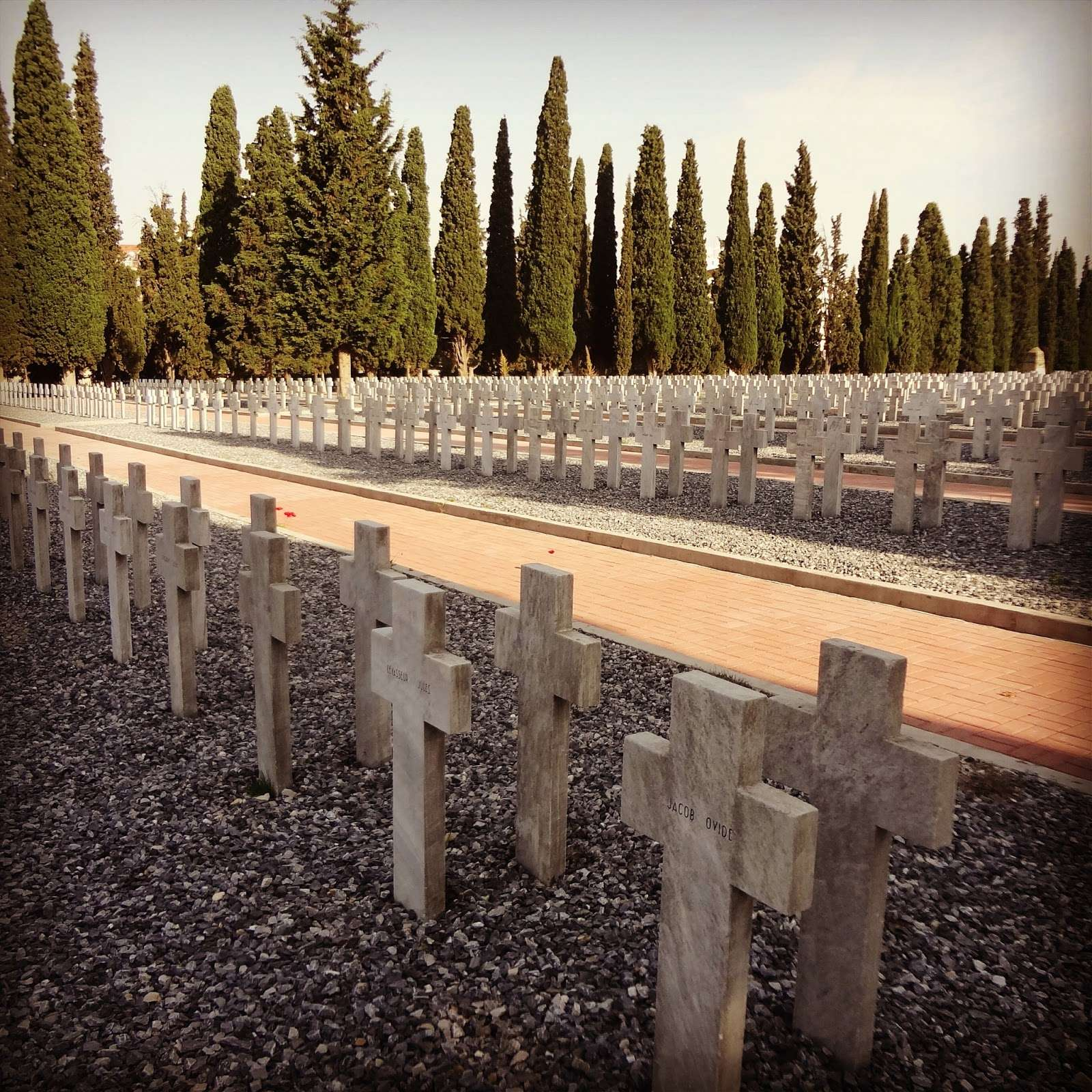 Συμμαχικά νεκροταφεία του Ζέιτενλικ στη Θεσσαλονίκη.