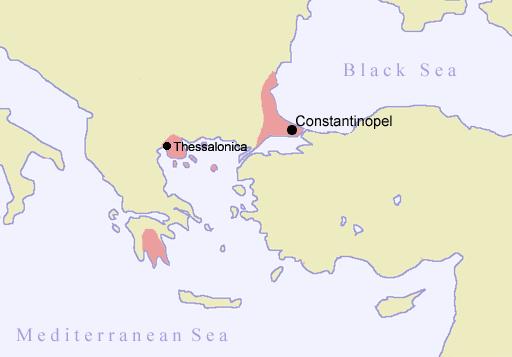 Η Βυζαντινή αυτοκρατορία το 1403