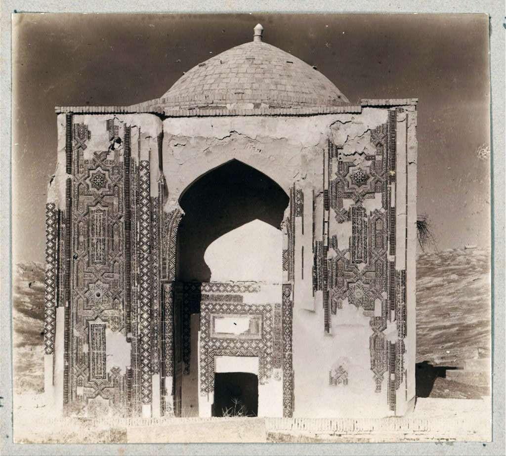 Το μαυσωλείο του Ταμερλάνου σε φωτογραφία του 1911. Βλ. World Digital Library.