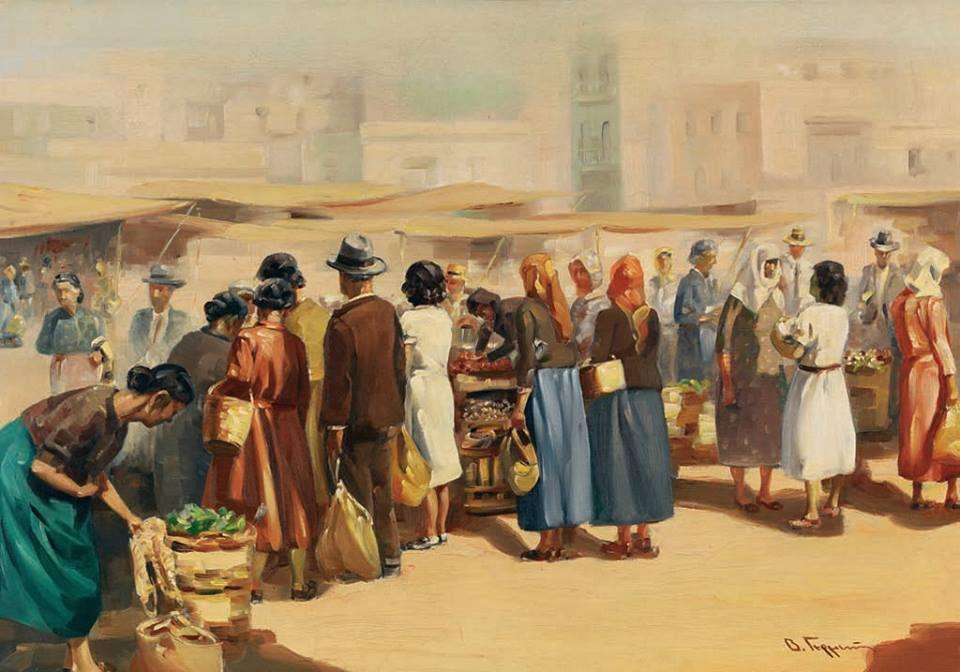Βασίλειος Γερμενής - Υπαίθρια αγορά
