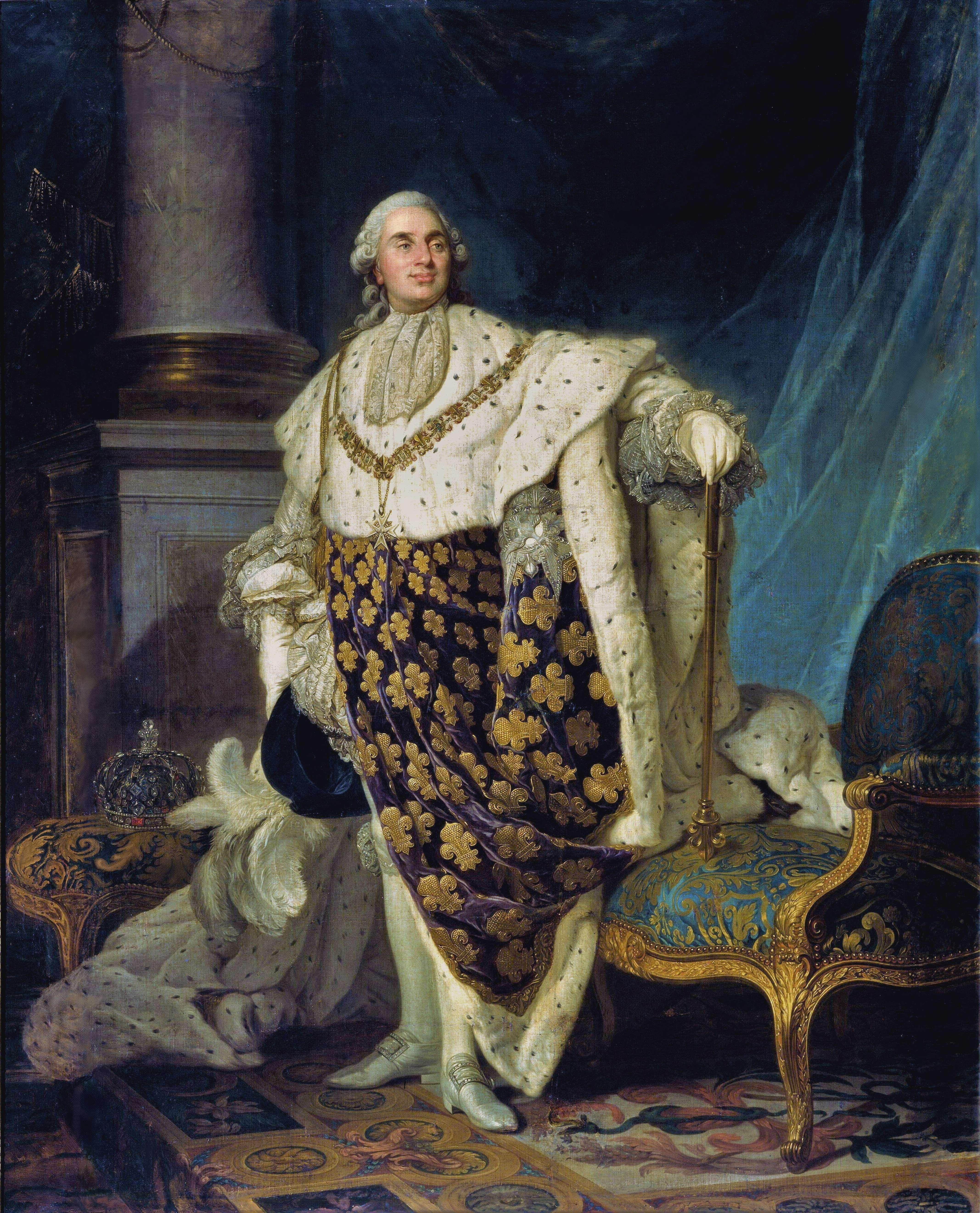 Ο Λουδοβίκος ΙΣΤ' από τον Ζοζέφ Σιφρέντ Ντυπλεσσί, 1777