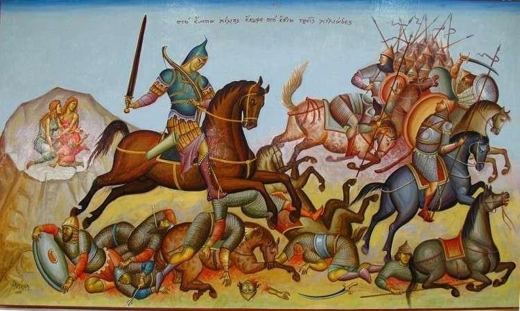 Ακρίτες αποκαλούνταν από τους Βυζαντινούς οι φύλακες των συνόρων, που την εποχή εκείνη τα ονόμαζαν «άκρες».