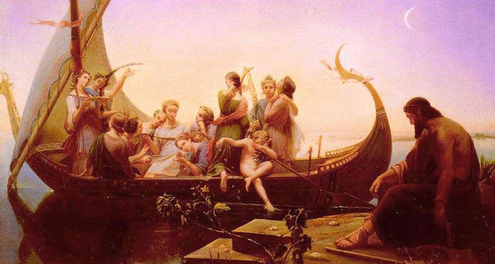 """""""Η Φυγή Των Ψευδαισθήσεων"""", έργο του Σαρλ Γκλαίρ (1843)"""