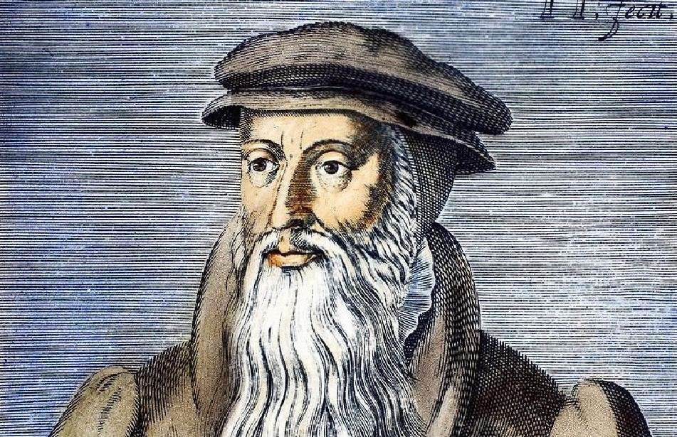 Ο Ιωάννης Καλβίνος (γαλ.: Jean Calvin, πραγματικό όνομα Jehan Cauvin, 10 Ιουλίου 1509 - 27 Μαΐου 1564) γεννήθηκε στο Νουαγιόν της Πικαρδίας στη Γαλλία.