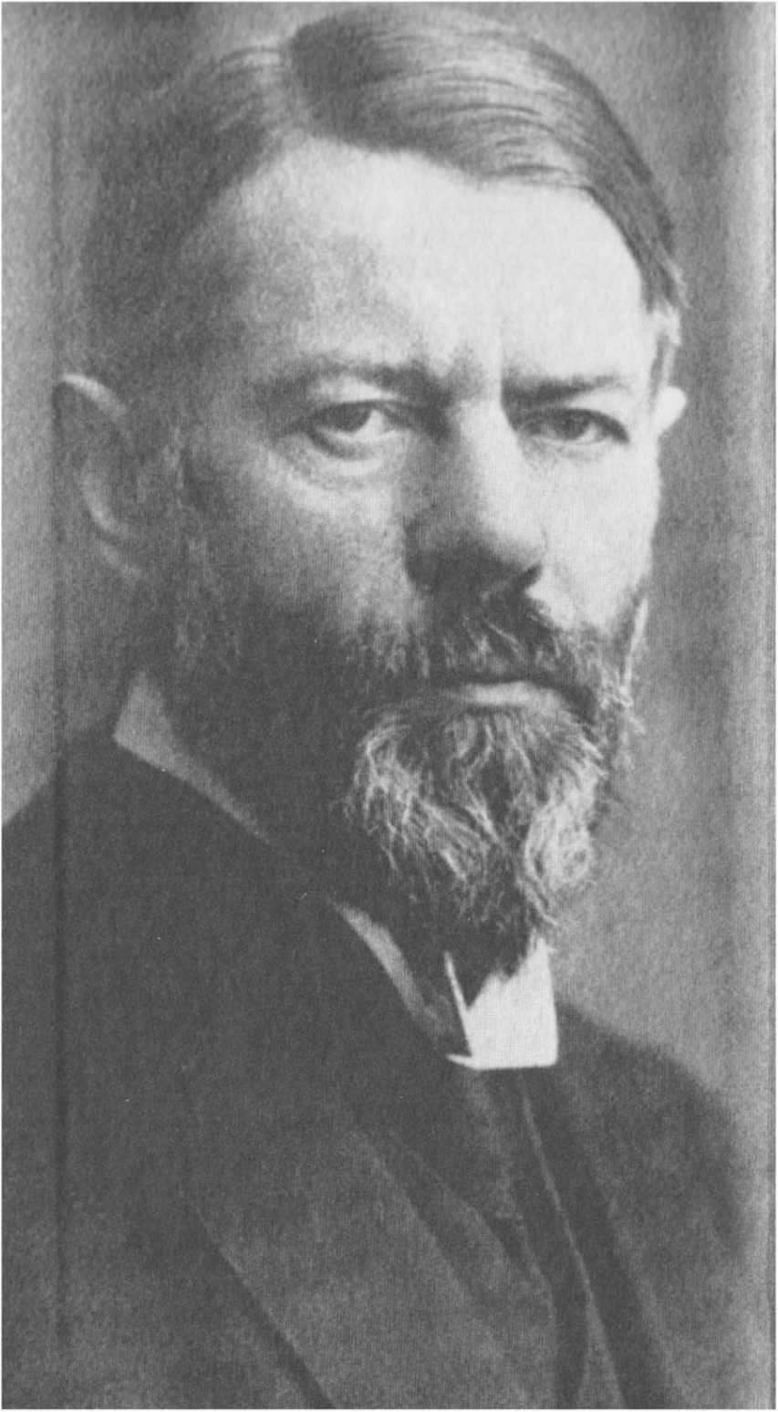 Ο Μαξ Βέμπερ γεννήθηκε στην Ερφούρτη της Γερμανίας στις 21 Απριλίου του 1864. Σπούδασε νομικά και έλαβε σε σχετικά μικρή ηλικία την έδρα του καθηγητή της Πολιτικής Οικονομίας στο Πανεπιστήμιο του Φράιμπουργκ.