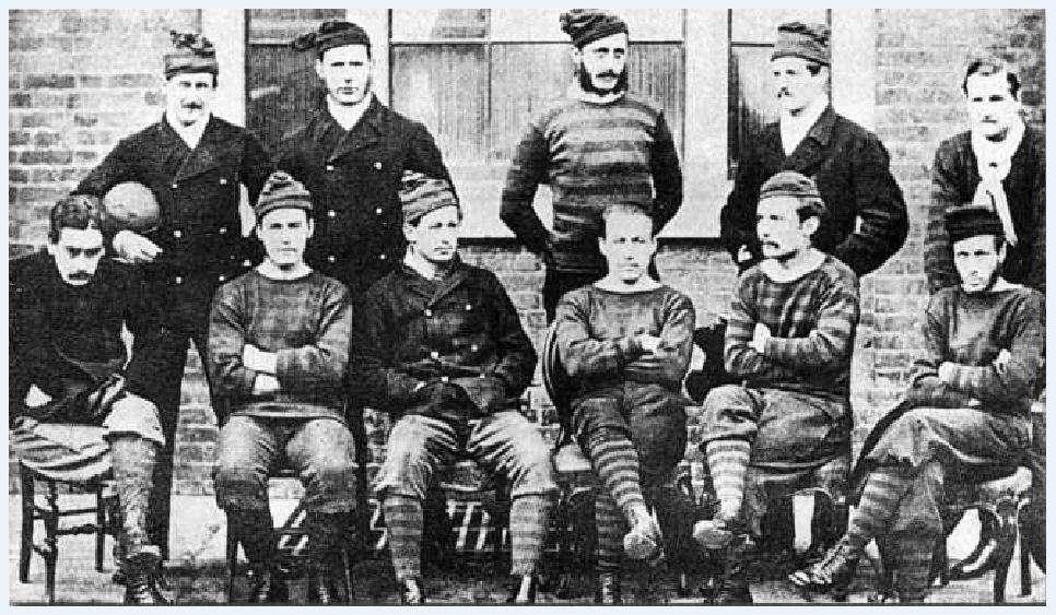 Η ομάδα Ρόγιαλ Εντζινίρς η οποία ήταν φιναλίστ στο πρώτο τελικό του κυπέλλου Αγγλίας το 1872