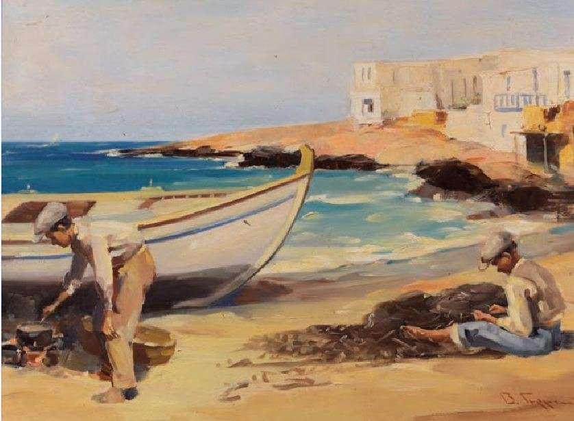 Βάσος Γερμενής (1896 – 1966). Ψαράδες