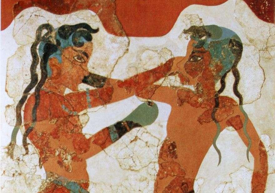 Οι πυγμάχοι. Εθνικό Αρχαιολογικό Μουσείο