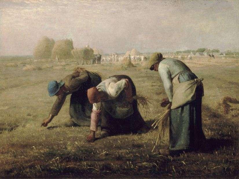 Οι σταχολογήτρες (1857), Μουσείο Ορσέ, Παρίσι. Ζαν Φρανσουά Μιγέ (Jean-François Millet, 4 Οκτωβρίου 1814 - 20 Ιανουαρίου 1875).