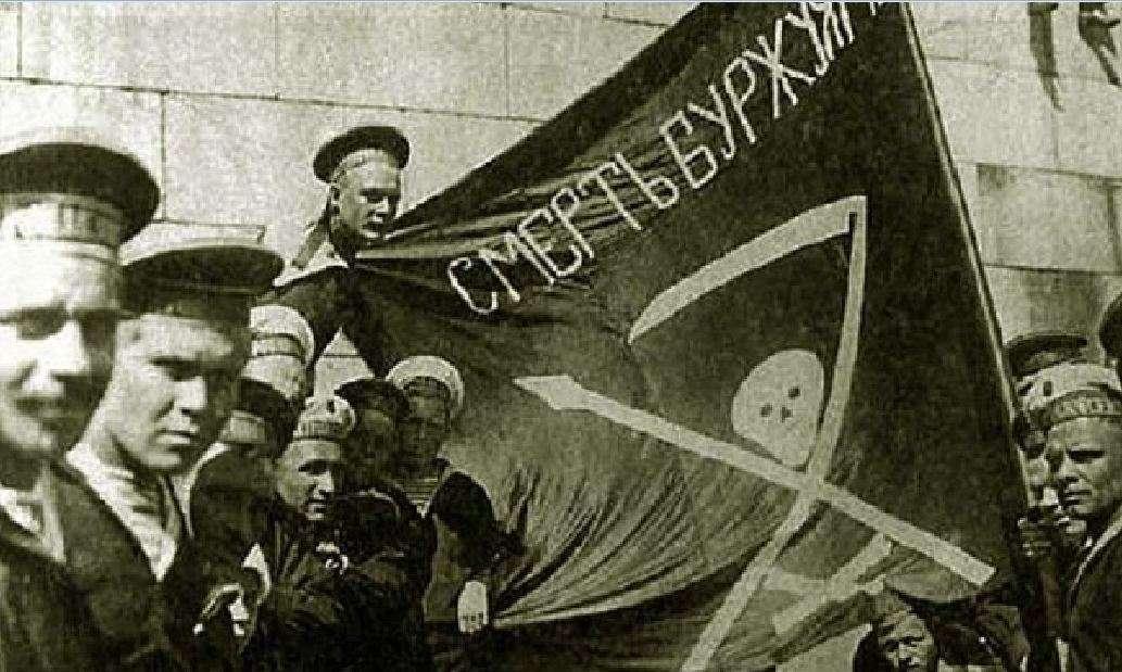 Ένοπλοι ναύτες από το πλοίο «Петропавловск», 1917.