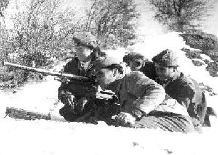 «Οι αντάρτες (ΔΣΕ ) ήταν ακόμα πολύ περισσότεροι από τους στρατιώτες. Ήταν έμπειροι και σκληροί πολεμιστές.»