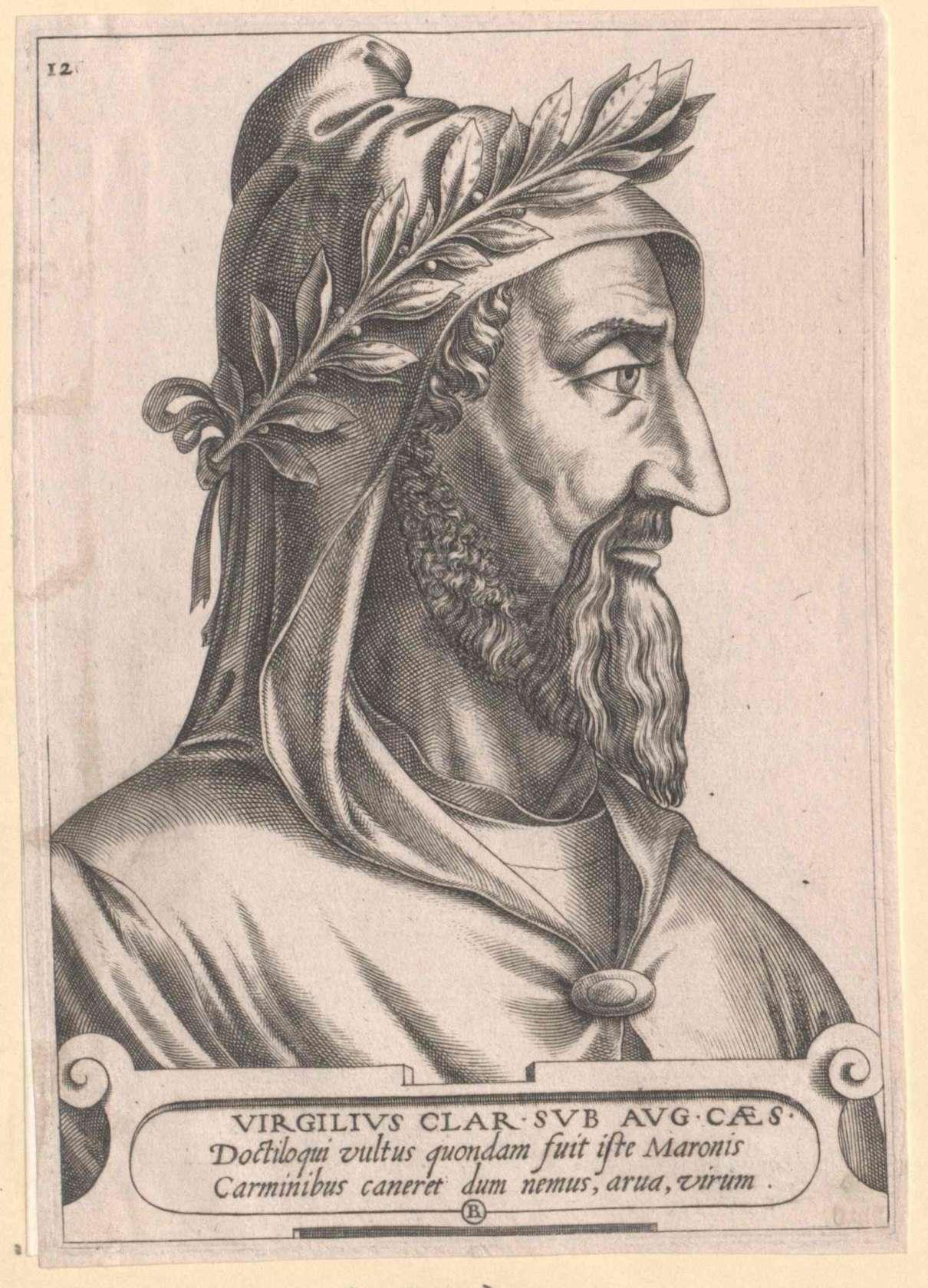 Ο Πόπλιος Βιργίλιος Μάρων (Publius Vergilius Maro, 15 Οκτωβρίου 70 π.Χ. - 21 Σεπτεμβρίου 19 π.Χ.), ο οποίος αποκαλείται συνήθως Βιργίλιος, ήταν αρχαίος Ρωμαίος ποιητής της περιόδου του Οκταβιανού Αύγουστου. Το σημαντικότερο ίσως έργο του, η Αινειάδα, θεωρείται το σπουδαιότερο έπος της Ρωμαϊκής Αυτοκρατορίας.