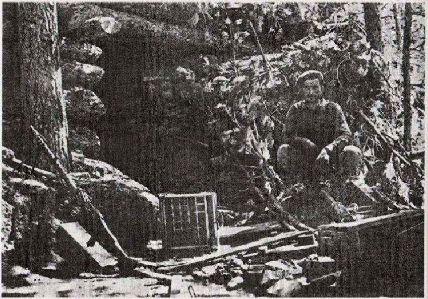Σταθμός διοίκησης του «Δημοκρατικού Στρατού» στον Γράμμο.