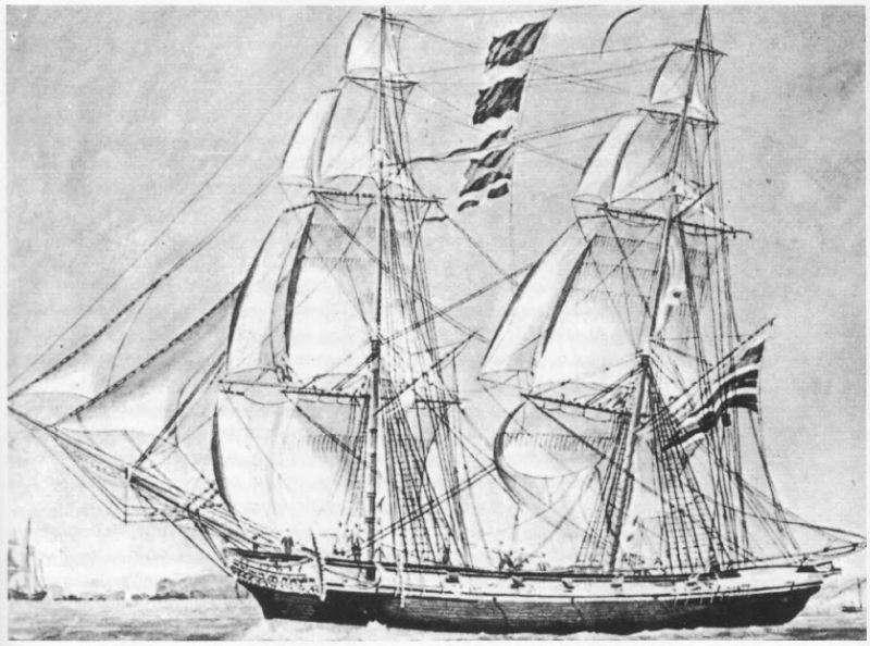 Μπρίκι ή βρίκι (πάρων) κατά την περίοδο της Επανάστασης του 1821