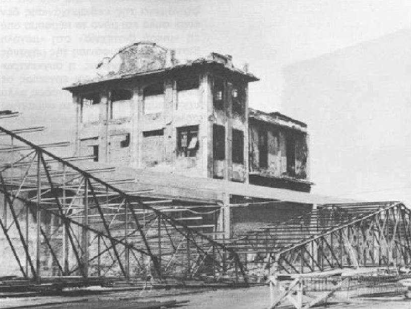 Ερείπια ελληνικής φάμπρικας που λειτουργούσε στα τέλη του 19ου αιώνα στην Αθήνα.