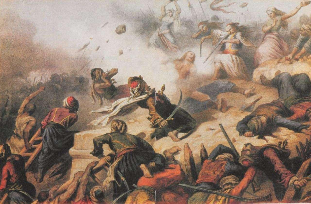 Η έξοδος ορίστηκε για την νύχτα του Σαββάτου του Λαζάρου με ξημερώματα Κυριακής των Βαΐων, μεταξύ 10ης και 11ης Απριλίου 1826. Τ