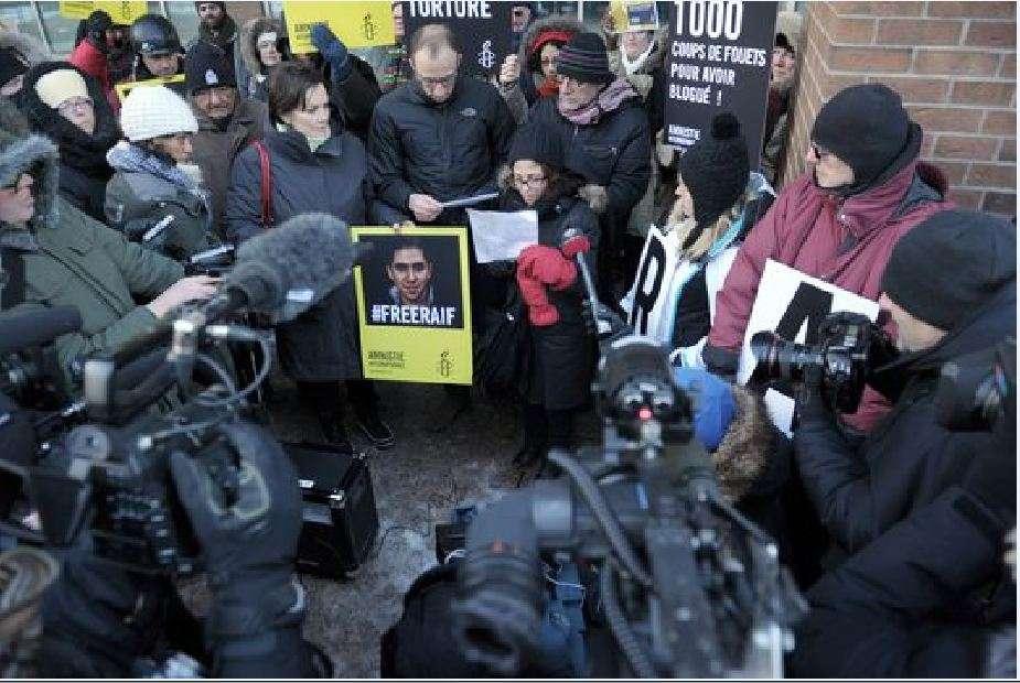 Διαμαρτυρία για τον Ραούφ Μπανταουί