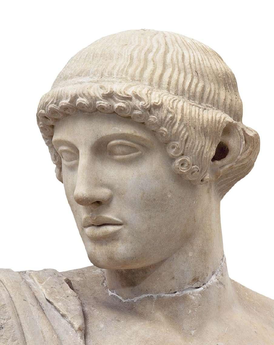 Ο θεός Απόλλων. Ναός του Δία στην Ολυμπία (χτίστηκε μεταξύ 472 και 456 π.Χ.) Αρχαιολογικό Μουσείο Ολυμπίας.