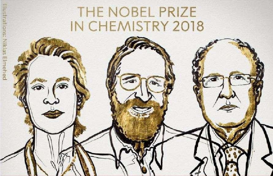 Σε τρεις επιστήμονες το Νόμπελ Χημείας για την παραγωγή ενζύμων για νέες χημικές και φαρμακευτικές ουσίες