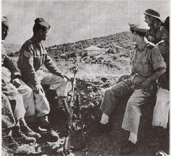 Στρατιώτες του Εθνικού Στρατού στον Γράμμο το καλοκαίρι του 1948.