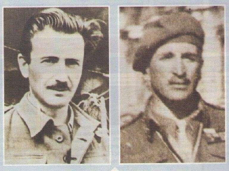 Μάρκος Βαφειάδης (1943) και Θρασύβουλος Τσακαλώτος (1944).