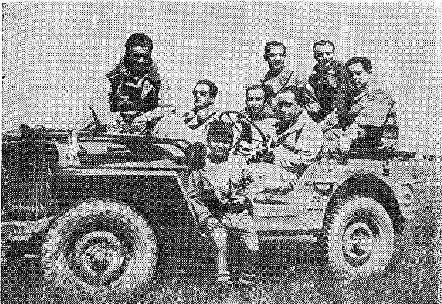 Άνδρες της Πολεμικής Αεροπορίας του Εθνικού Στρατού κατά τη διάρκεια των επιχειρήσεων στον Γράμμο.1948-49.