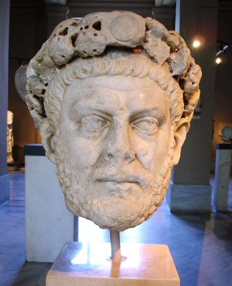 Ο Διοκλητιανός ή Διοκλής (Gaius Aurelius Valerius Diocletianus, 22 Δεκεμβρίου 244 - 3 Δεκεμβρίου 311) ήταν Ρωμαίος αυτοκράτορας από το 284 έως το 305.