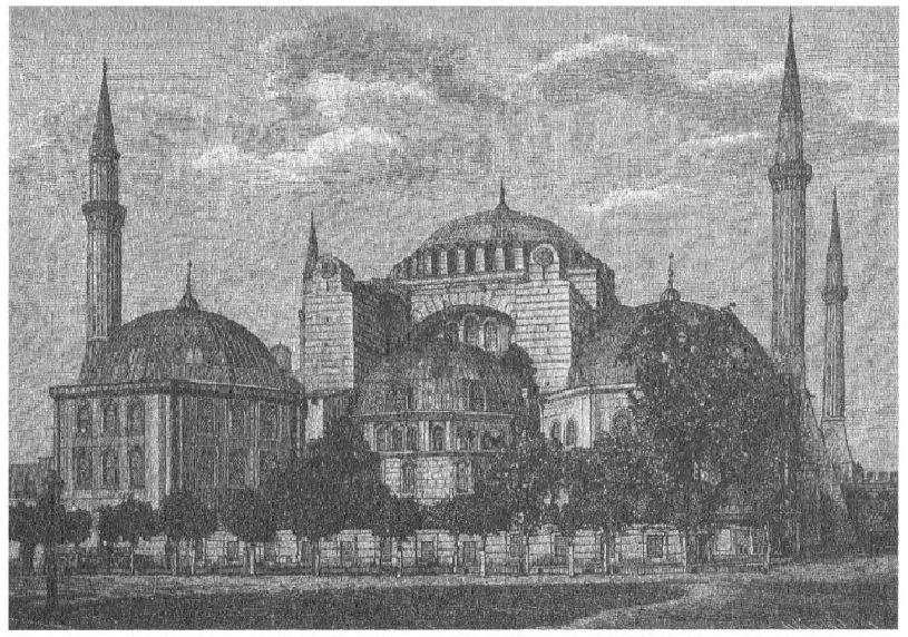 Η Αγία Σοφία ή Αγια-Σοφιά (τουρκικά: Ayasofya, λατινικά: Sancta Sophia ή Sancta Sapientia), γνωστή και ως ναός της Αγίας του Θεού Σοφίας στην Κωνσταντινούπολη.
