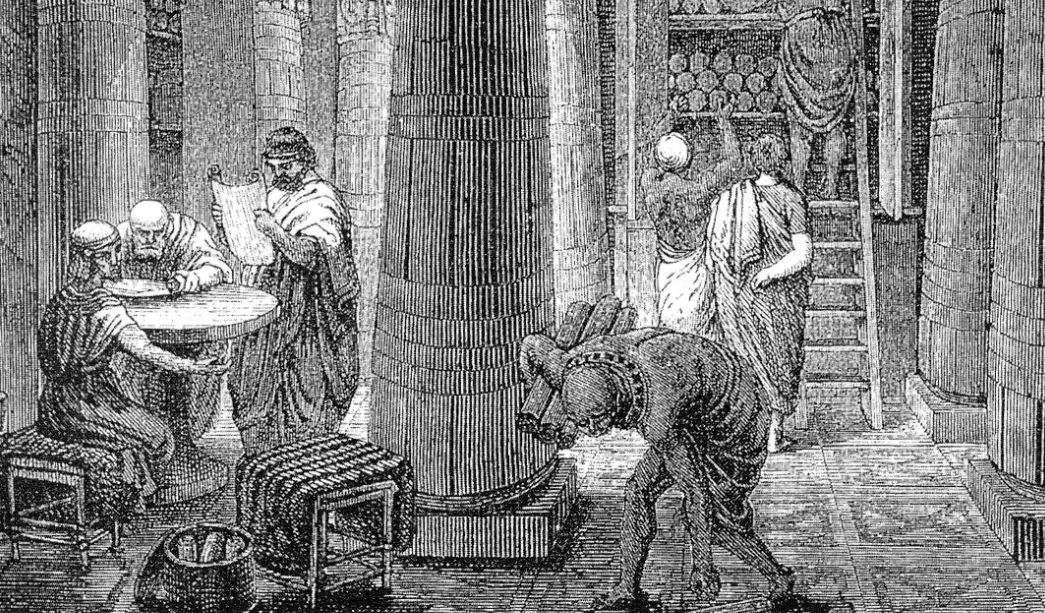 Ο Θεοδόσιος και οι διωγμοί των Εθνικών. Η καταστροφή της Βιβλιοθήκης στην Αλεξάνδρεια.