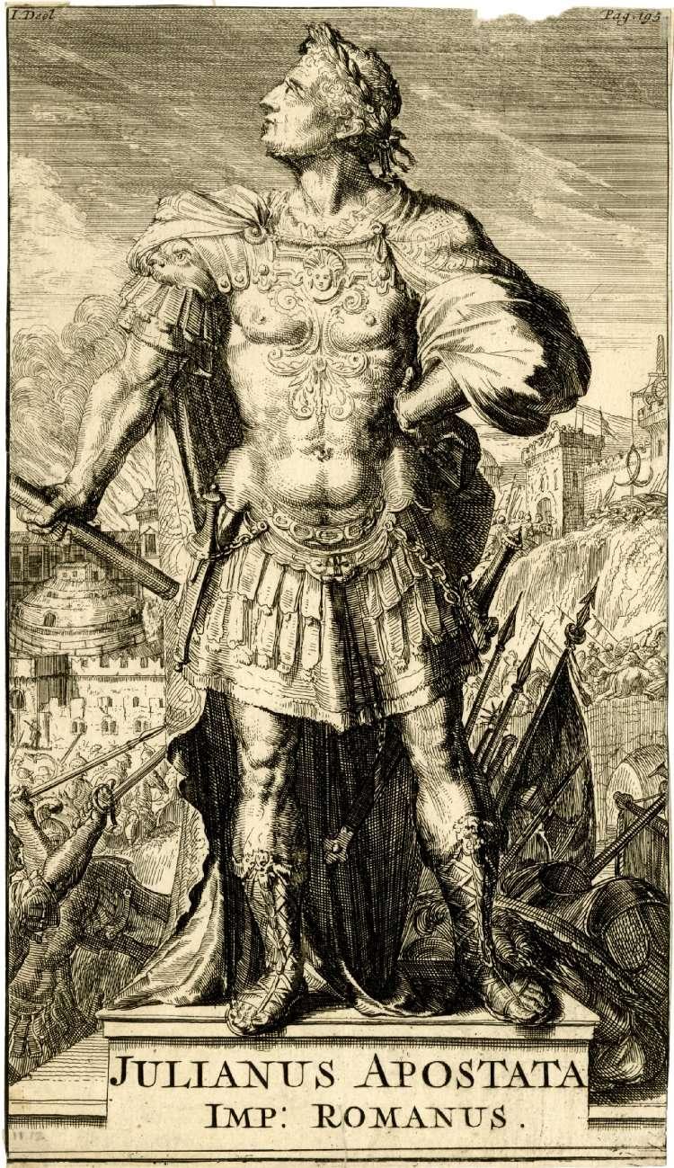 Ο Ιουλιανός (Φλάβιος Κλαύδιος Ιουλιανός, Λατ. Flavius Claudius Julianus, 331 ή 332 — 26 Ιουνίου 363), γνωστός ως Ιουλιανός ο Παραβάτης ή Ιουλιανός ο Αποστάτης.